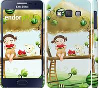 "Чехол на Samsung Galaxy A3 A300H Девочка с арбузом ""2957c-72"""