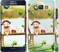 "Чехол на Samsung Galaxy A5 A500H Девочка с арбузом ""2957c-73"""