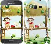 "Чехол на Samsung Galaxy Core Prime G360H Девочка с арбузом ""2957c-76"""