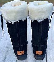 Ботинки женские зимние 5 пар в ящике черного цвета 38, фото 2