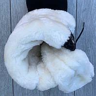 Ботинки женские зимние 5 пар в ящике черного цвета 38, фото 3