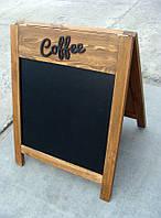Штендер меловой COFFEE, 80 х 60 см | Era Creative Wood