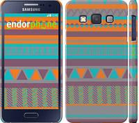 "Чехол на Samsung Galaxy A3 A300H Узор v18 ""2956c-72"""