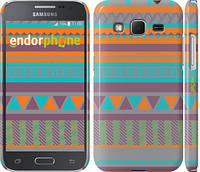 "Чехол на Samsung Galaxy Core Prime G360H Узор v18 ""2956c-76"""