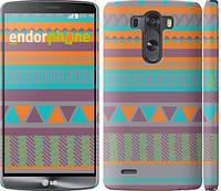 """Чехол на LG G3 dual D856 Узор v18 """"2956c-56"""""""