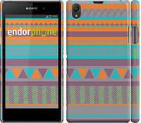 """Чехол на Sony Xperia Z1 C6902 Узор v18 """"2956c-38"""""""