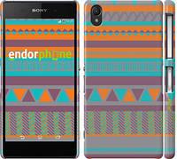 "Чехол на Sony Xperia Z2 D6502/D6503 Узор v18 ""2956c-43"""