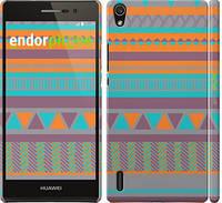 """Чехол на Huawei Ascend P7 Узор v18 """"2956c-49"""""""