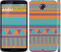 """Чехол на Motorola Nexus 6 Узор v18 """"2956c-67"""""""