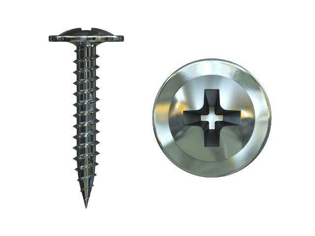Саморез по металу с прессшайбой MMG  4.2 х 51 (Цинк) 100 шт