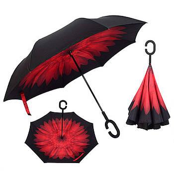 Зонтик цветной обратного сложения Rainscence