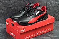 Мужские кроссовки Puma bmw motorsport,черные с красным 44,46р