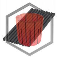 Графитовая мешалка Ф15(20)х300(500)мм