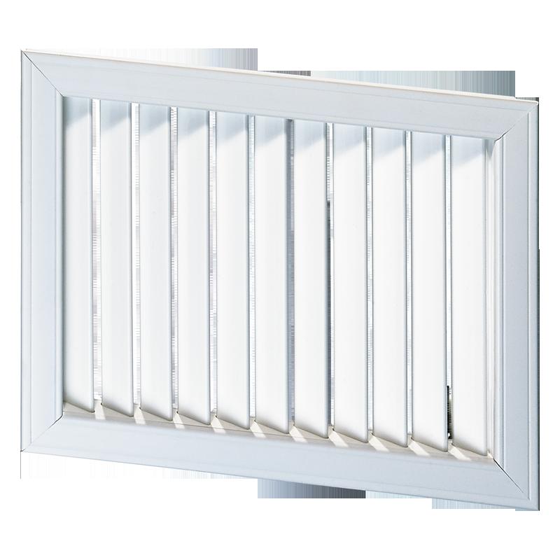 Решетка вентиляционная пластик НВН 1500*400 Вентс белая