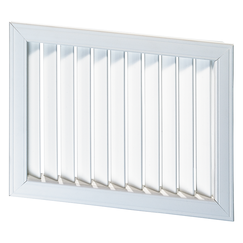 Решетка вентиляционная пластик НВН 1200*450 Вентс белая