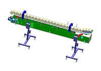 Устройство для ополаскивания и обрабатывания водяным паром жестебанок П1-ОБЖ