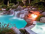 Построим Бассейн с водной горкой и Водопадом., фото 10