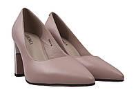 Туфли женские Geronea натуральная кожа, цвет бежевый, размер 35-40