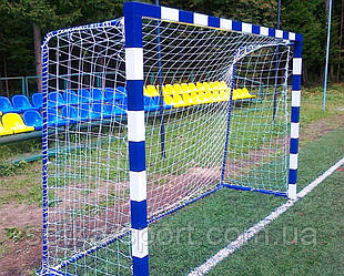 """Сітка для міні-футболу (футзал), гандбольна """"ЕЛІТ-0,6 М"""" Осередок 12 див. (Ø шнура - 4,5 мм)"""