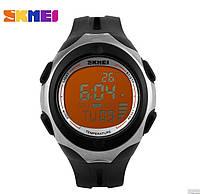 Часы Skmei D0953-57 часы с термометром Black-Orange