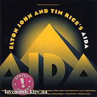 Музичний сд диск ELTON JOHN AND TIM RICE'S Aida (1999) (audio cd)