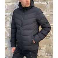Куртка Glo-Story MMA-8511 черный зима XXL