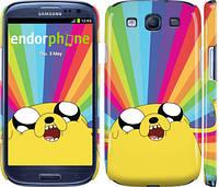 "Чехол на Samsung Galaxy S3 Duos I9300i Adventure Time. Jake v3 ""2449c-50"""