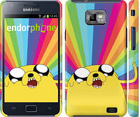 "Чехол на Samsung Galaxy S2 Plus i9105 Adventure Time. Jake v3 ""2449c-71"""