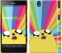 "Чехол на Sony Xperia Z C6602 Adventure Time. Jake v3 ""2449c-40"""