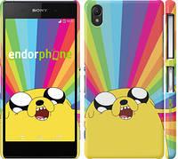 "Чехол на Sony Xperia Z2 D6502/D6503 Adventure Time. Jake v3 ""2449c-43"""