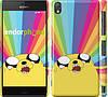 "Чехол на Sony Xperia Z3 D6603 Adventure Time. Jake v3 ""2449c-58"""