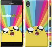"Чехол на Sony Xperia Z3 D6603 Adventure Time. Jake v3 ""2449c-58"""