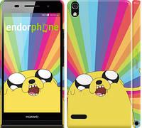 "Чохол на Huawei Ascend P6 Adventure Time. Jake v3 ""2449c-39"""