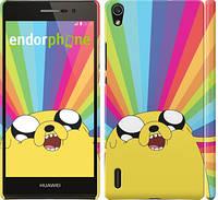 "Чохол на Huawei Ascend P7 Adventure Time. Jake v3 ""2449c-49"""