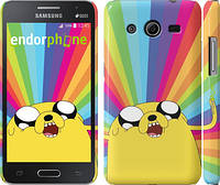 "Чехол на Samsung Galaxy Core 2 G355 Adventure Time. Jake v3 ""2449c-75"""