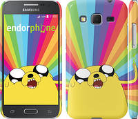 "Чехол на Samsung Galaxy Core Prime G360H Adventure Time. Jake v3 ""2449c-76"""