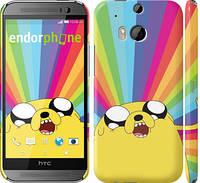 "Чехол на HTC One M8 dual sim Adventure Time. Jake v3 ""2449c-55"""