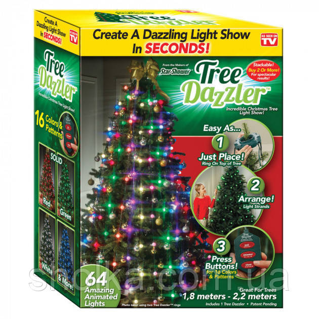 Гирлянда на елку новогодняя Tree Dazzler
