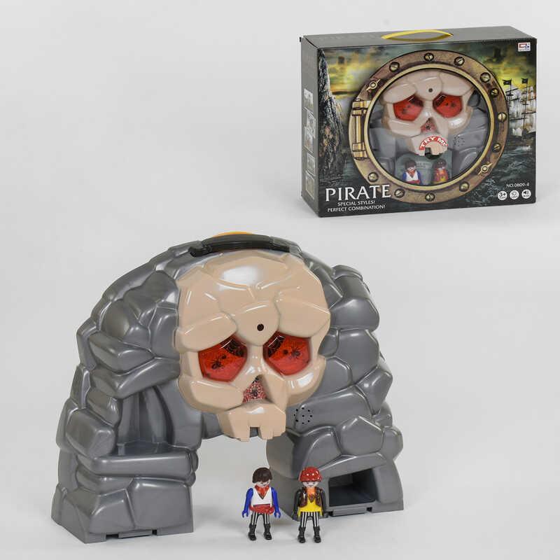 Набор Пиратов 0809-4 (18) свет, звук, в коробке