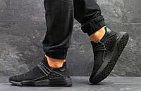 Кроссовки Мужские Adidas NMD Human Race,сетка,черные