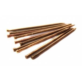 Гвоздь столярный без шляпки MMG DIN 1152 1.2 х 25 (Цинк желтый)  100 грамм