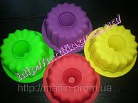 Форма силиконовая Калач большой ровный верх втулка, фото 1