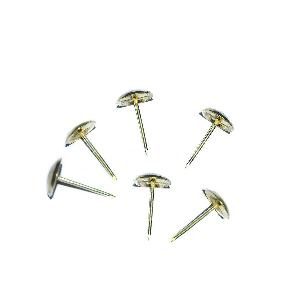 Гвоздь декоративный оббивной MMG DIN 1151 1.4 х 16 (Золото глянец)  100 шт