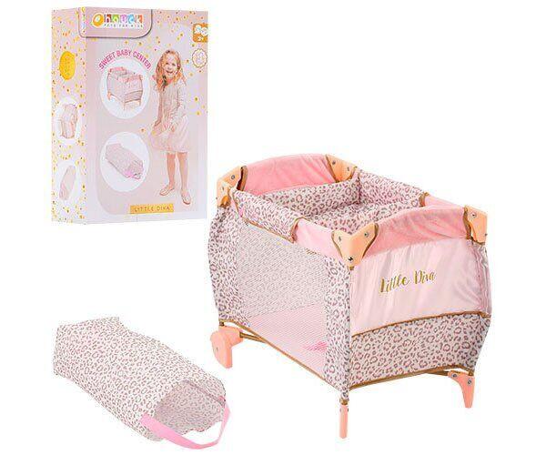 Кровать-манеж D-90186 Hauck By Little Diva для куклы с чехлом - аксессуары для куклы