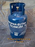 Пропановые Газовые баллоны — 11кг (27 литров) Польша