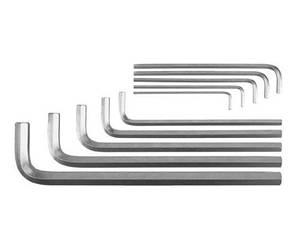 Набор ключей шестигранных Г-образных 10 шт YATO YT-0519 (Польша)