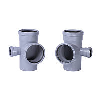 Крестовина канализационная TA Sewage 110х110х110х50, 90°
