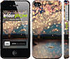 """Чехол на iPhone 4 Фонарики """"2724c-15"""""""