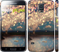 "Чехол на Samsung Galaxy S5 g900h Фонарики ""2724c-24"""