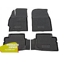 Резиновые коврики в салон Toyota Corolla тойота королла 2007-2013 (Avto-Gumm) Автогум гумові килимки
